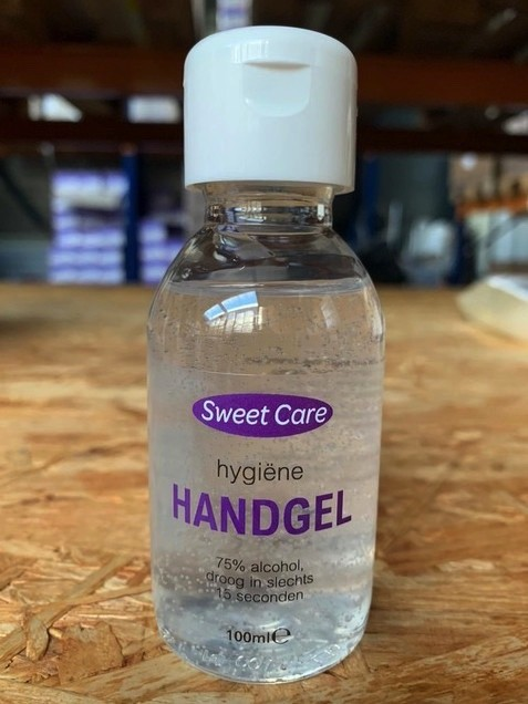 Handgel op alcoholbasis | SWEETCARE 100 ml