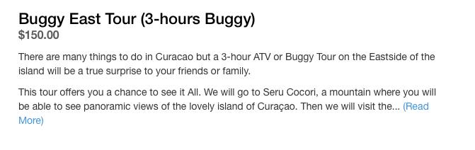 ATV & BUGGY TOURS CURACAO   WEST TOUR   EAST TOUR